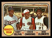 Manager's Dream (Tony Oliva, Chris Cannizzaro, Roberto Clemente) [NM]