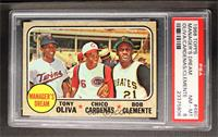 Manager's Dream (Tony Oliva, Chris Cannizzaro, Roberto Clemente) [PSA 8]