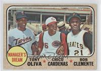 Manager's Dream (Tony Oliva, Chris Cannizzaro, Roberto Clemente)