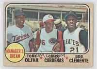 Manager's Dream (Tony Oliva, Chris Cannizzaro, Roberto Clemente) [Good to&…