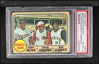 Manager's Dream (Tony Oliva, Chris Cannizzaro, Roberto Clemente) [PSA 4]