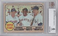 Super Stars (Willie Mays, Mickey Mantle, Harmon Killebrew) [BVG 6]