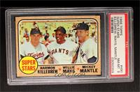 Super Stars (Willie Mays, Mickey Mantle, Harmon Killebrew) [PSA 8]