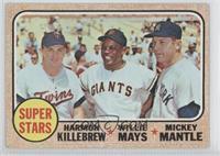Super Stars (Willie Mays, Mickey Mantle, Harmon Killebrew) [GoodtoV…