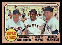 Super Stars (Willie Mays, Mickey Mantle, Harmon Killebrew) [EXMT]