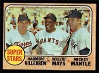 Super Stars (Willie Mays, Mickey Mantle, Harmon Killebrew) [VGEX]