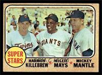 Super Stars (Willie Mays, Mickey Mantle, Harmon Killebrew) [EX]