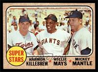 Super Stars (Willie Mays, Mickey Mantle, Harmon Killebrew) [EX MT]