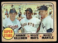Super Stars (Willie Mays, Mickey Mantle, Harmon Killebrew) [GOOD]