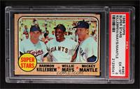 Super Stars (Willie Mays, Mickey Mantle, Harmon Killebrew) [PSA 6]