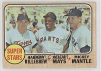 Willie Mays, Mickey Mantle [Good to VG‑EX]