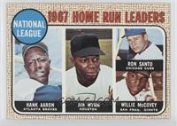 National League Home Run Leaders (Hank Aaron, Jimmy Wynn, Ron Santo, Willie McC…
