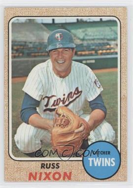 1968 Topps #515 - Russ Nixon
