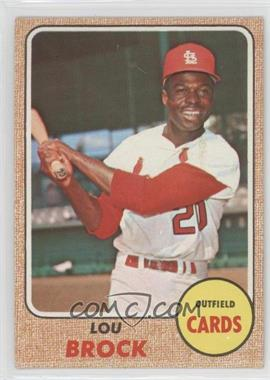 1968 Topps #520 - Lou Brock