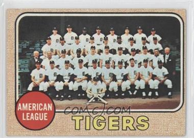 1968 Topps #528 - Detroit Tigers Team