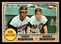 Bird Belters (Frank Robinson, Brooks Robinson) [NM MT]