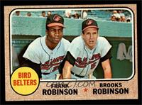 Bird Belters (Frank Robinson, Brooks Robinson) [NM]