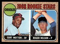1968 Rookie Stars (Curt Motton, Roger Nelson) [NM]