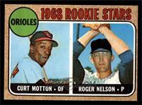 1968 Rookie Stars (Curt Motton, Roger Nelson) [EXMT]