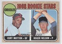 1968 Rookie Stars (Curt Motton, Roger Nelson)
