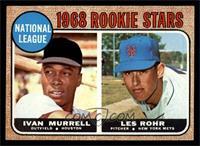 National League Rookie Stars (Ivan Murrell, Les Rohr) [EX]