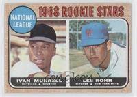 National League Rookie Stars (Ivan Murrell, Les Rohr)