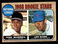 National League Rookie Stars (Ivan Murrell, Les Rohr) [VGEX]