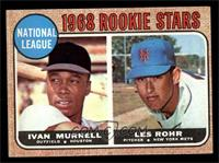 National League Rookie Stars (Ivan Murrell, Les Rohr) [EX]