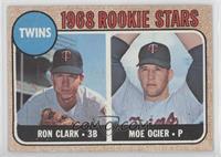 Twins Rookie Stars (Ron Clark, Moe Ogier) [GoodtoVG‑EX]