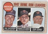 Carl Yastrzemski, Frank Howard, Harmon Killebrew