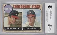 Jim Britton, Ron Reed [JSA Certified Auto]