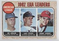 Sonny Siebert, Joe Horlen, Gary Peters