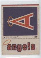 California Angels Hat Logo (Capital A Logo Lowercase A in Angels)