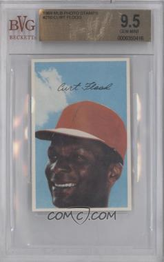 1969 Baseball Stars Official Photostamps #CUFL - Curt Flood [BVG 9.5]