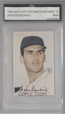 1969 Baseball Stars Official Photostamps #DAMO - Dave Morehead [ENCASED]