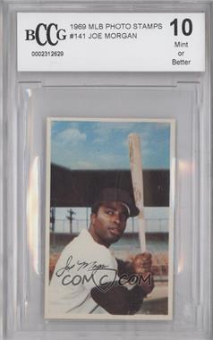 1969 Baseball Stars Official Photostamps #N/A - Joe Morgan [ENCASED]