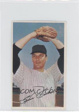 1969 Baseball Stars Official Photostamps #STBA - Steve Barber