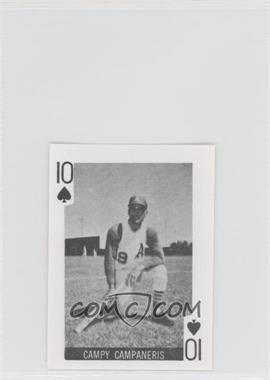 1969 Globe Imports Playing Cards Gas Station Issue [Base] #10S - Campy Campaneris