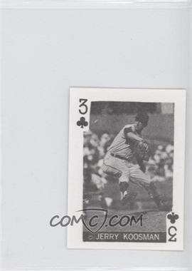 1969 Globe Imports Playing Cards Gas Station Issue [Base] #3C - Jerry Koosman