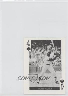 1969 Globe Imports Playing Cards Gas Station Issue [Base] #4C - Tony Oliva