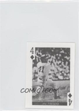 1969 Globe Imports Playing Cards Gas Station Issue [Base] #4D - Jim Fregosi