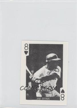 1969 Globe Imports Playing Cards Gas Station Issue [Base] #8H - Jimmy Wynn