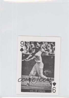 1969 Globe Imports Playing Cards Gas Station Issue [Base] #9S - Willie Davis