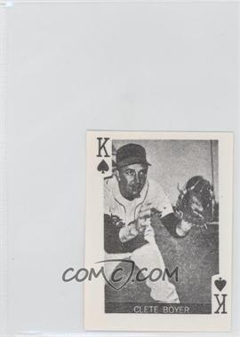 1969 Globe Imports Playing Cards Gas Station Issue [Base] #KS - Clete Boyer