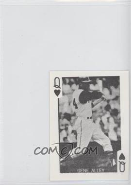 1969 Globe Imports Playing Cards Gas Station Issue [Base] #QH - Gene Alley