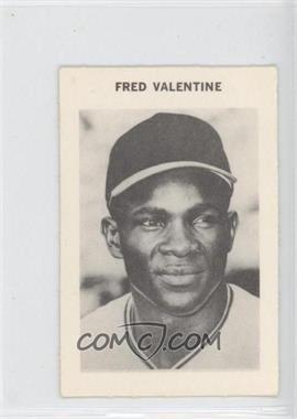 1969 Milton Bradley - [Base] #FRVA - Fred Valentine