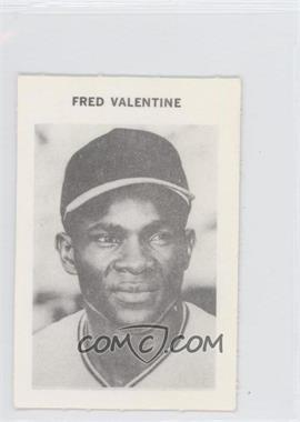 1969 Milton Bradley #FRVA - Fred Valentine