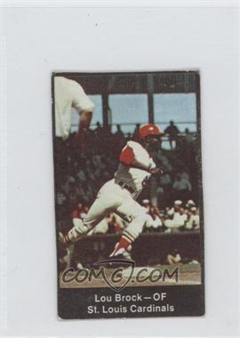 1969 Nabisco Team Flakes - [Base] #N/A - Lou Brock