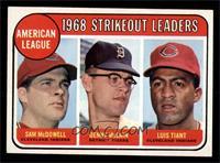 Sam McDowell, Denny McLain, Luis Tiant [NMMT]