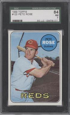 1969 Topps - [Base] #120 - Pete Rose [SGC84]